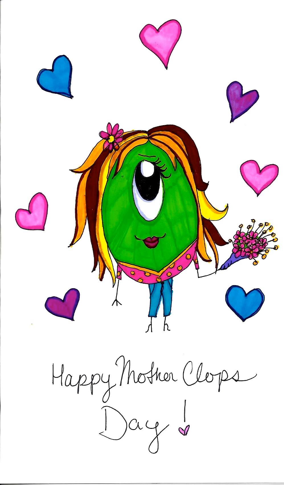 Happy Mother Clops Day! 2014