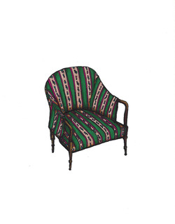 Nana's Green Chair