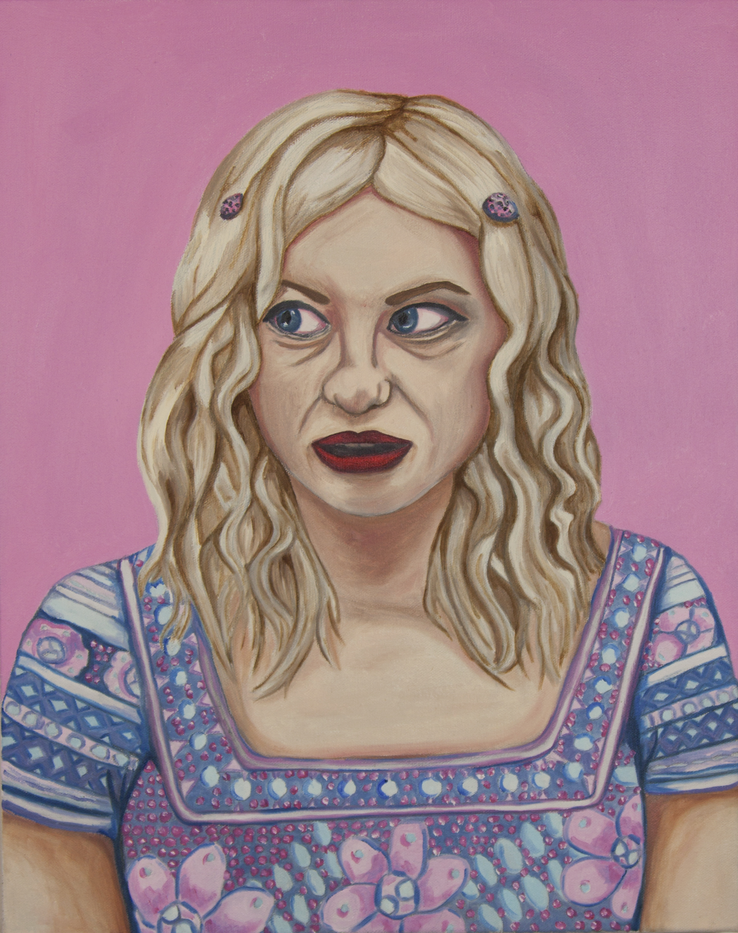 Self-Portrait as Kat Bjelland