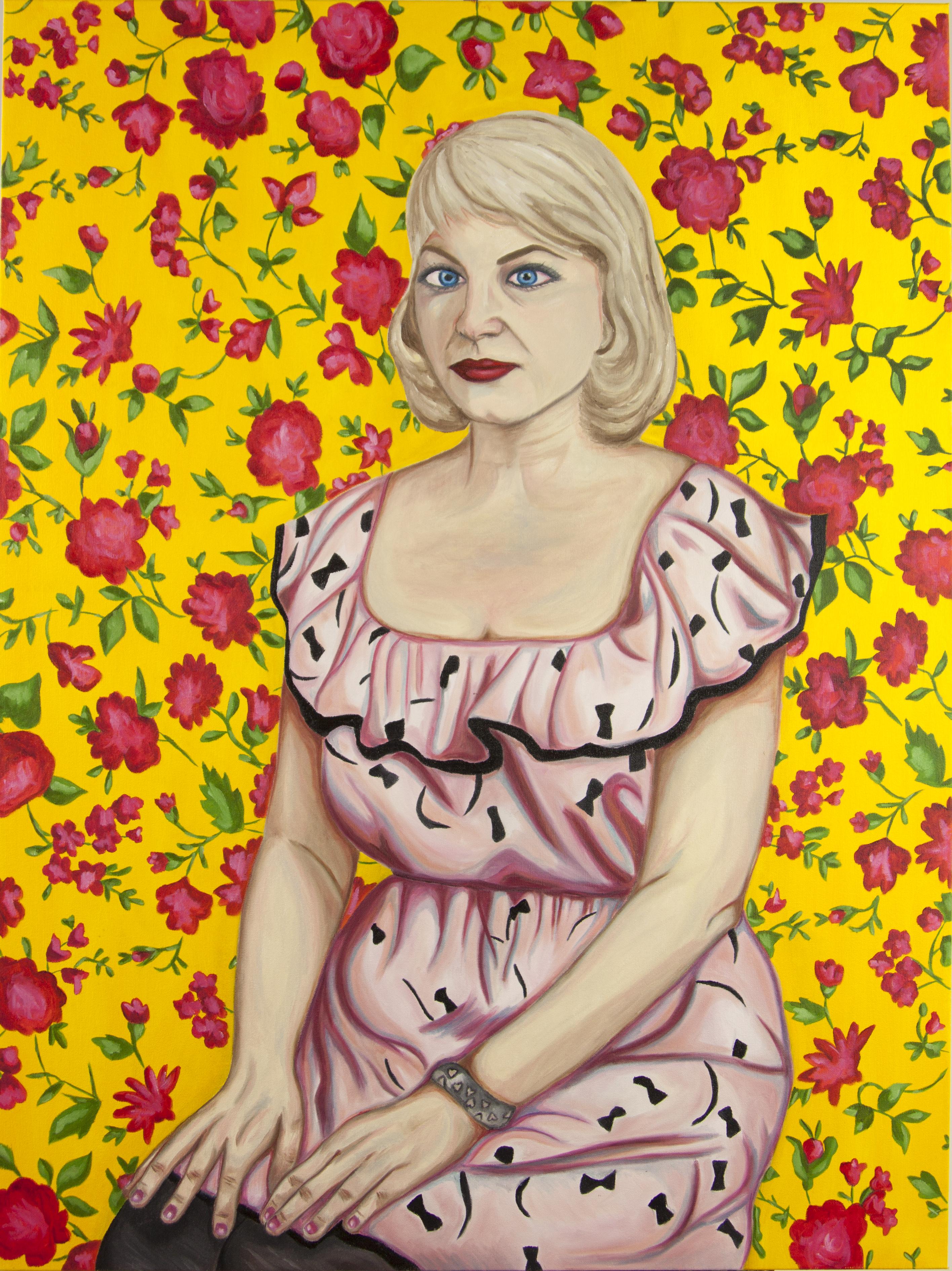 Self-Portrait As Sylvia Plath