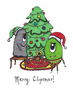 Merry Clopsmas Card 2012