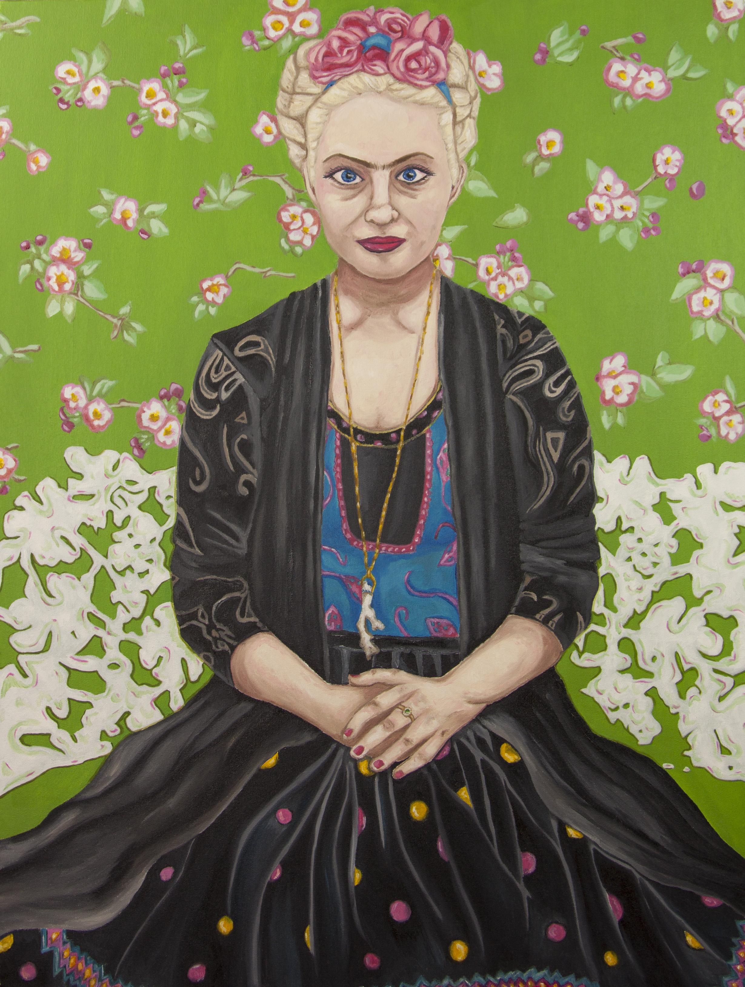 Self-Portrait As Frida Kahlo
