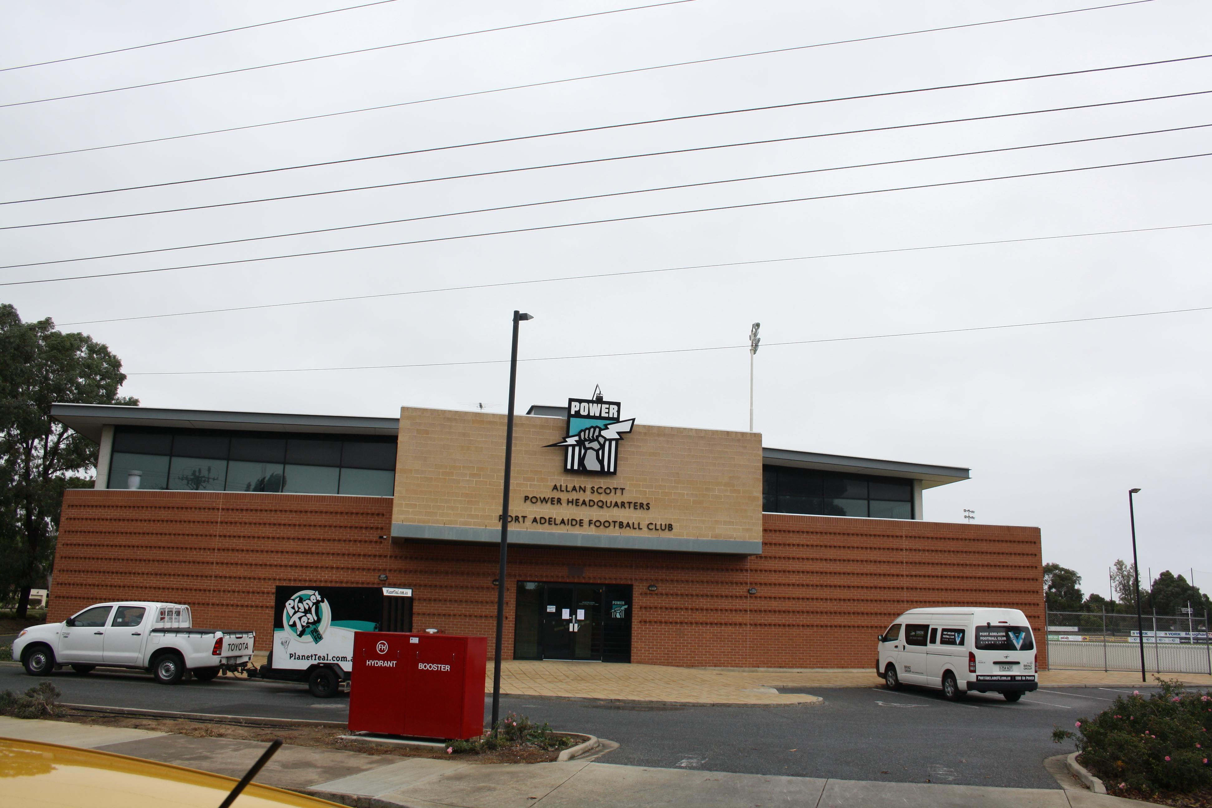 Port Adelaide FC Headquarters