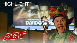 Piff the Magic Dragon attempts David Copperfield's Legendary Trick