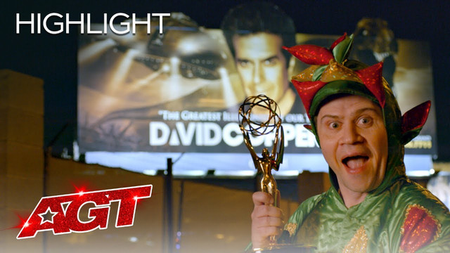 Piff the Magic Dragon attempts David Copperfield's Legendary Trick