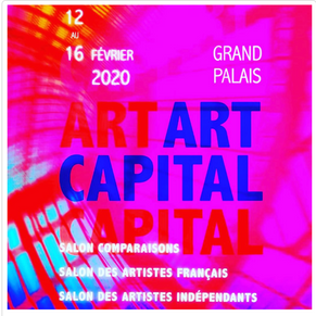 Annie Lebaillif  expose au salon ART CAPITAL 2020