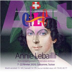 Annie Lebaillif expose à la Gallery Swiss Art Space