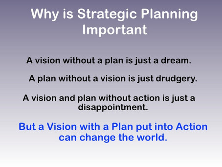 Why Most Nonprofit Strategic Plans are Neither Strategic Nor a Plan