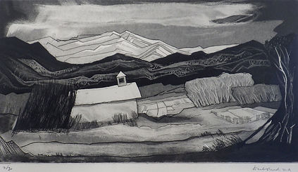 "Doel Reed ""Early Mountain Snows"""