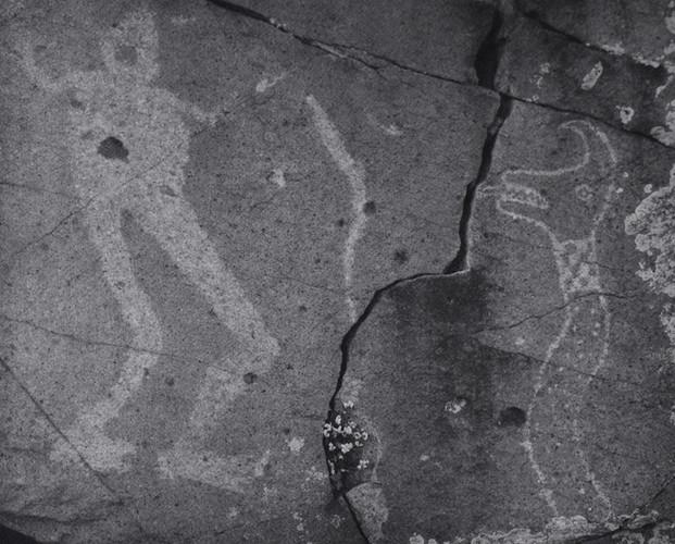 Man Taming Snake, Archeological Site - Galisteo NM