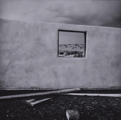 Wall, Window, Pond - Galisteo NM