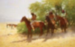 Howard Terpning -The Stragglers