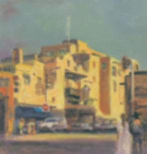 """Yuqi Wang """"La Fonda Hotel""""  Santa Fe, NM"""