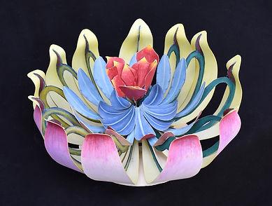 """Carl Schuman """"Astral Flower #5"""" 3D  $ 1,200"""