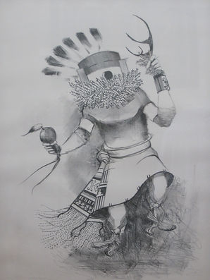 Patrick Swazo Hinds -Kachina Dancer