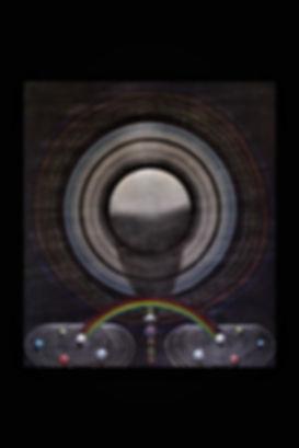 """Carl Schuman """"Nature Mandala #6 Saturn"""""""