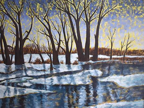 "Carl Schuman ""Winter Eventide"""