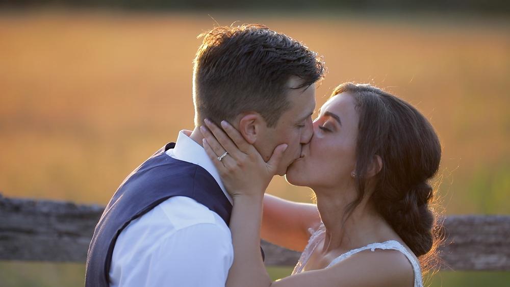 New Jersey Wedding Videography - Bride & Groom - Sunset