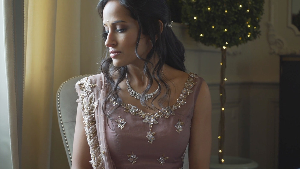 Indian Wedding - Crystal Tea Room - Philadelphia - Bride