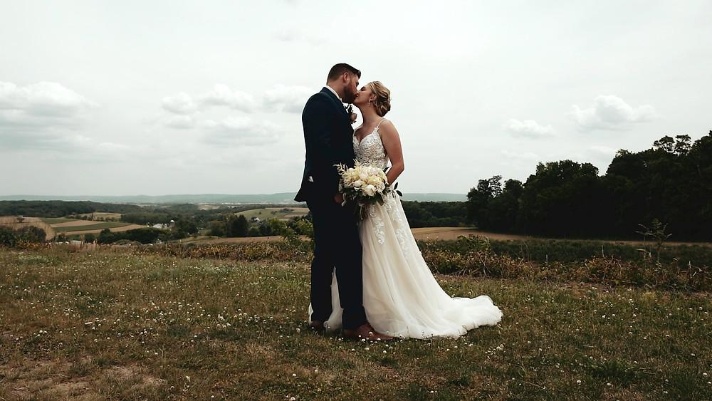 Folino Estate Wedding - Lehigh Valley - Bride & Groom