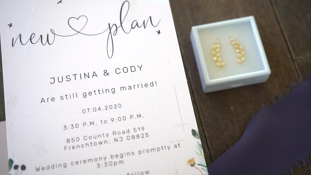 New Jersey Wedding Videography - Invitations
