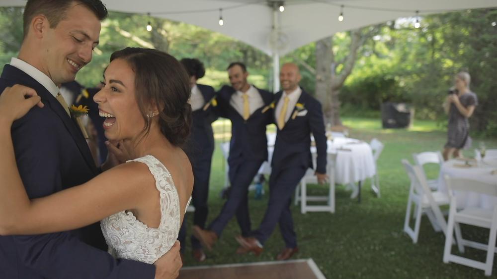 New Jersey Wedding Videography - First Dance