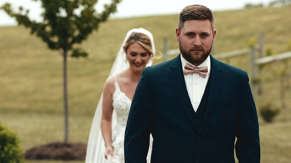 Winery Wedding - Lehigh Valley - Bride & Groom