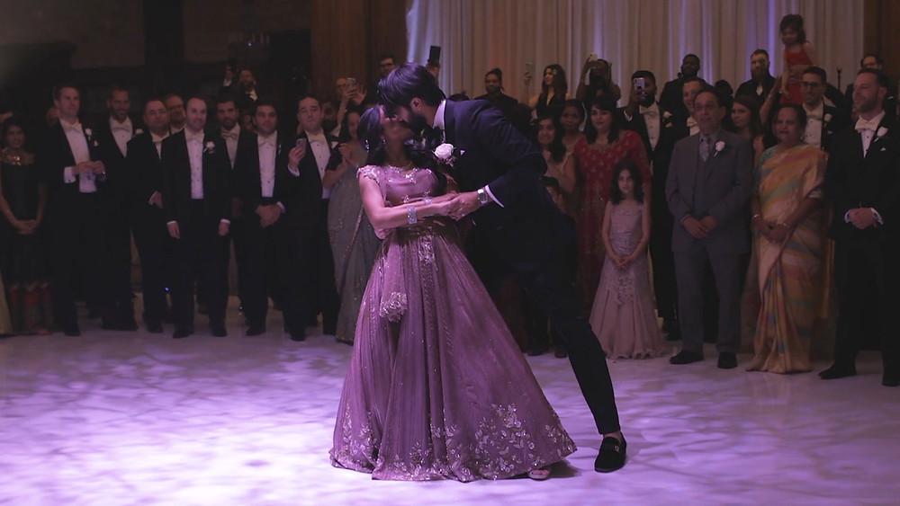 Indian Wedding - Crystal Tea Room - Philadelphia - First Dance