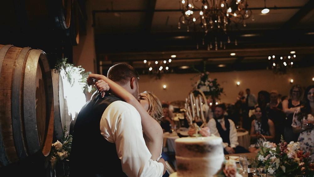 Wedding Cake - Bride & Groom - Wedding Reception
