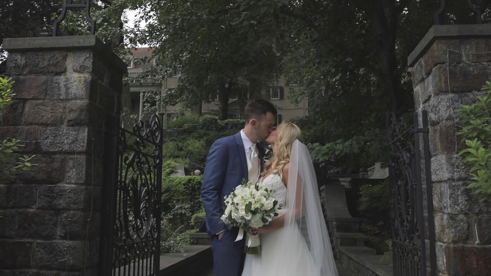 Delaware Wedding Videography - Winterthur - Gate