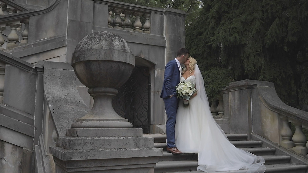 Delaware Wedding Videography - Winterthur - Stairs