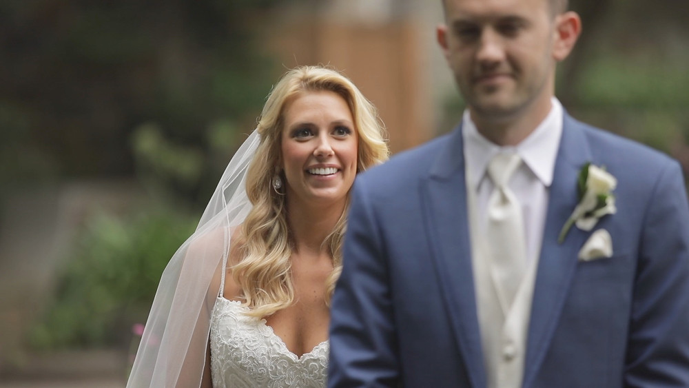Delaware Wedding Videography - Winterthur - First Look