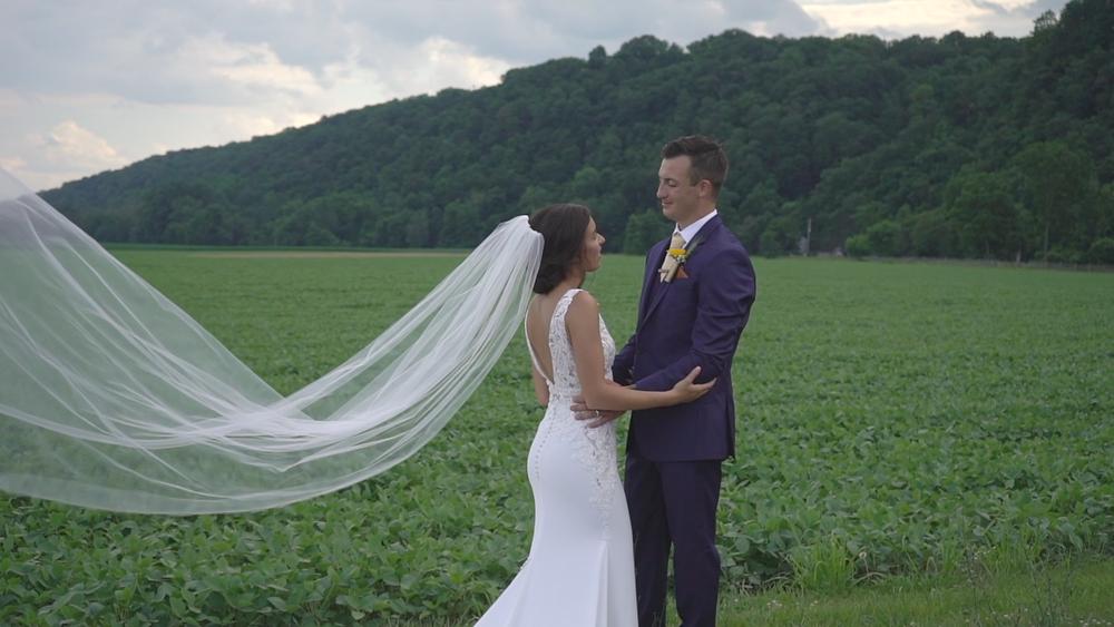 New Jersey Wedding Videography - Bride & Groom Portraits