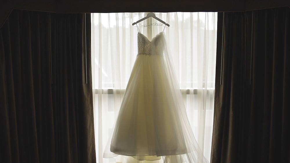 Delaware Wedding Videography - Winterthur - Wedding Dress