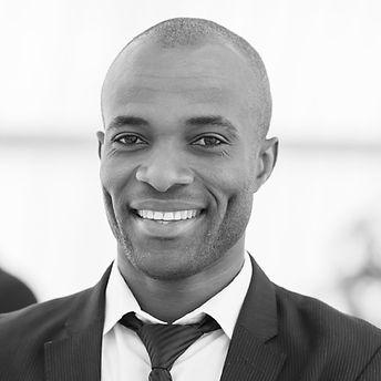 Male executive smiling portrait