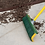 Broom sweeps up mulch with ease!