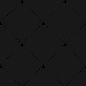 Diamond Lines Black