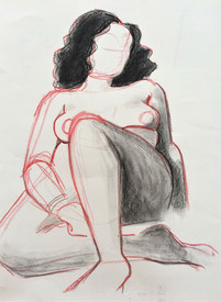 15 Minute Life Drawing Study