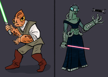Star Wars Character Designs