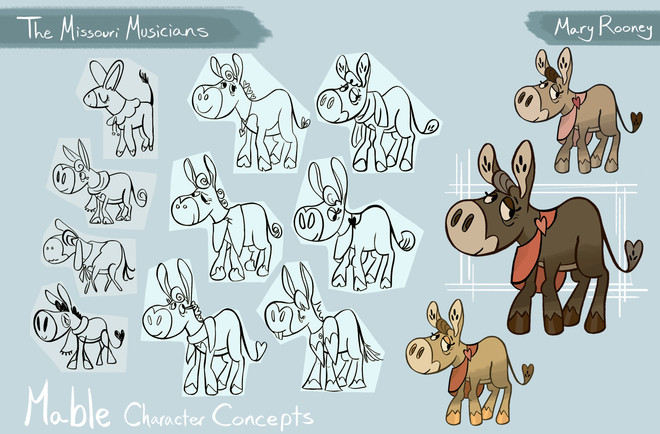 TMM Mable Character Concepts