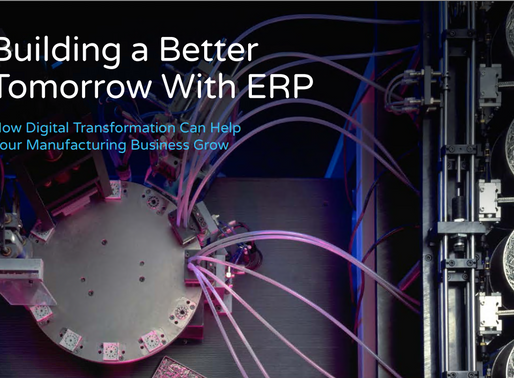 Learn how Digital Transformation can help manufacturers build a better tomorrow