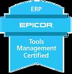 Epicor Tools Management Certification