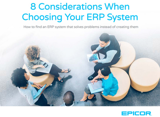 Learn key elements to find an ERP that creates solutions