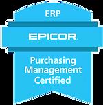 Epicor Purchasing Management Certificaiton