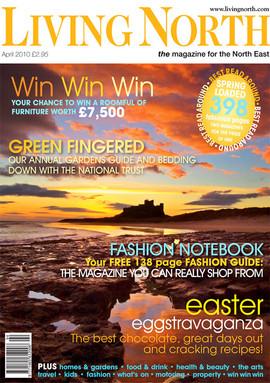 Bamburgh Castle image for Living North Magazine