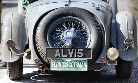 The Endurance Rally Association's, Flying Scotsman Rally.
