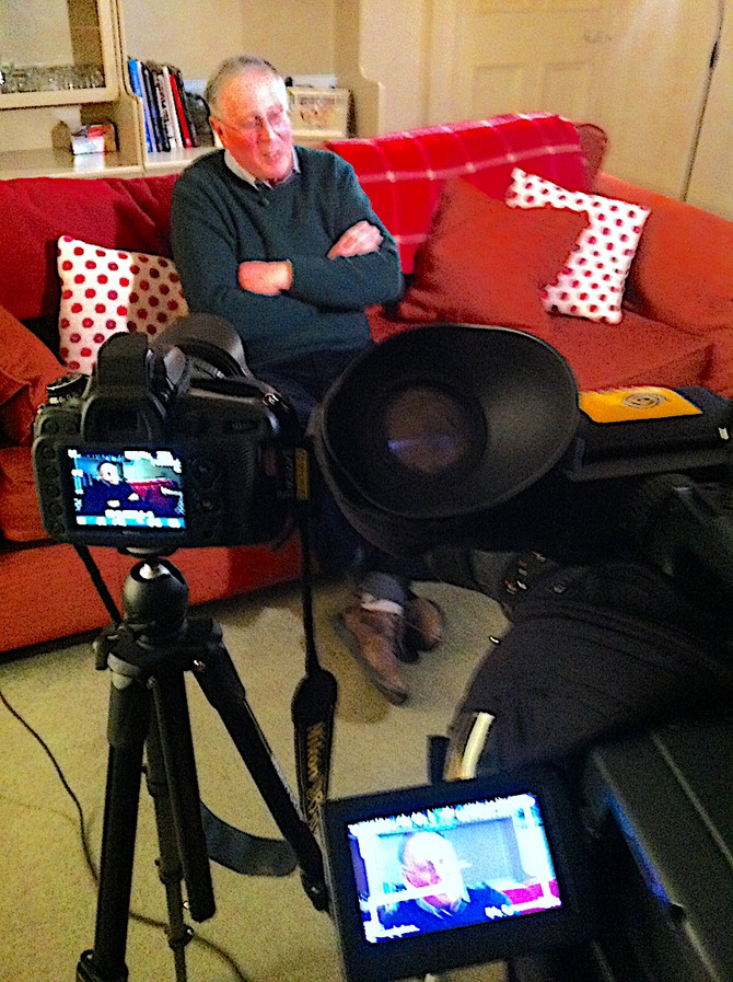 Couple of interviews for the Jim Clark short