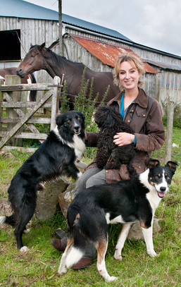 Celebrity shepherdess Emma Gray