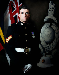 Corporal of the Royal Marines