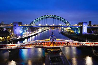 SWING AND TYNE BRIDGES